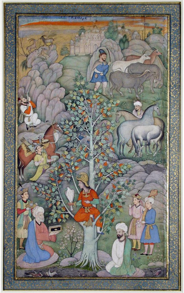 The-Depiction-of-Animals-&-Birds-in-Indian Mughal Art