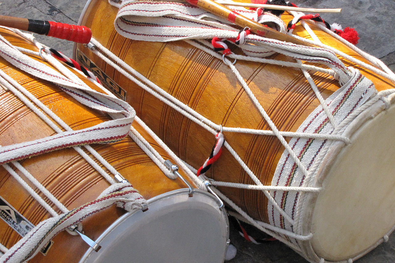 Traditional-Drums-of-India-Dhol