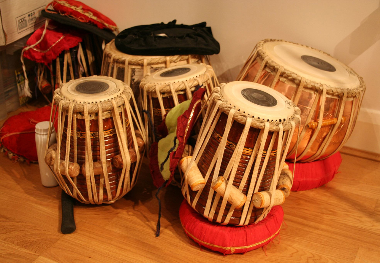 Traditional-Drums-of-India-Tabla