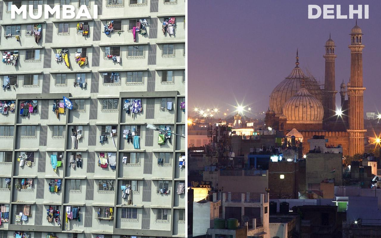 Mumbai-Accommodation-vs-Delhi-Accommodation