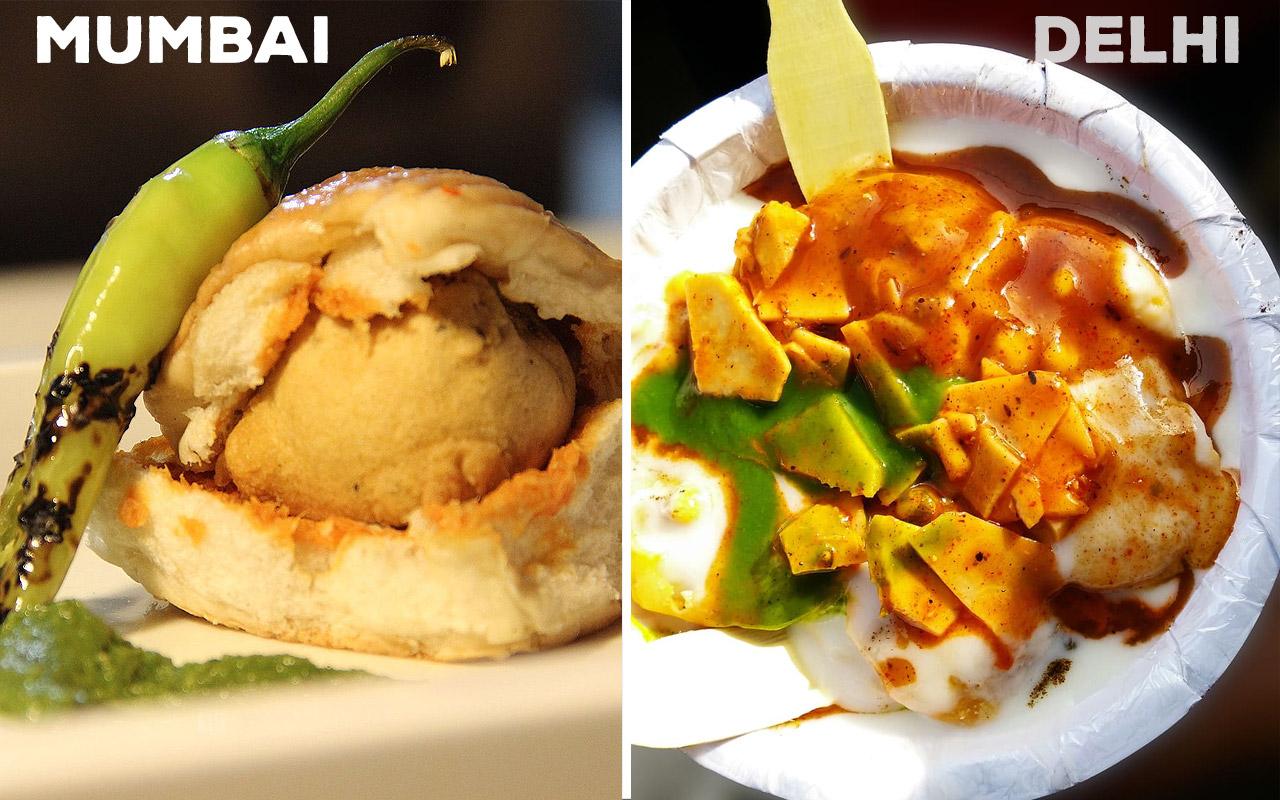 Mumbai-Food-vs-Delhi-Food