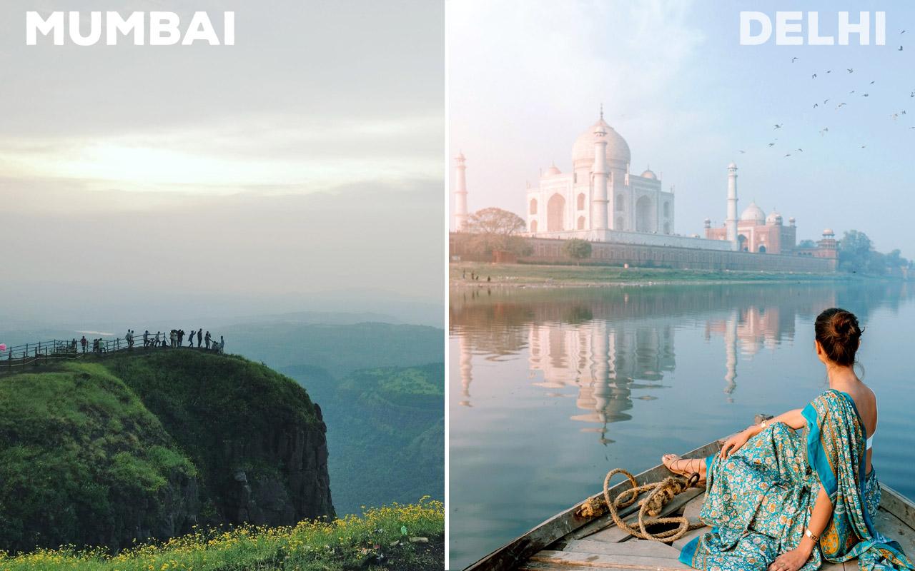 Nearby-Getaways-Mumbai-vs-Delhi