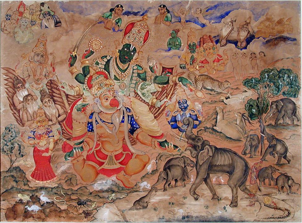 Art-and-craft-of-Karnataka-Mysore-Painting