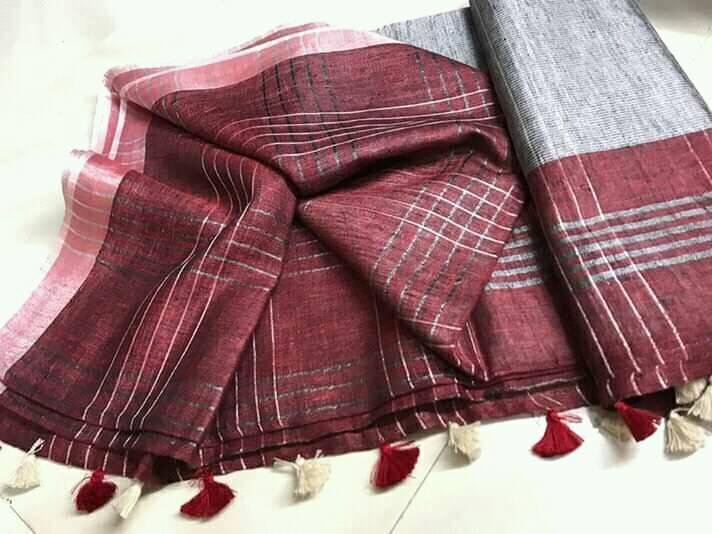 Indian Handloom Bhagalpuri-silk