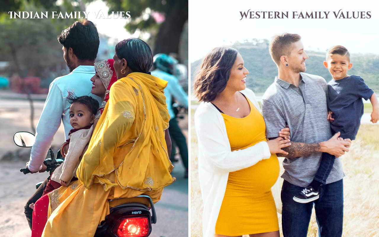 Indian-Culture-vs-Western-Culture-Family-Values
