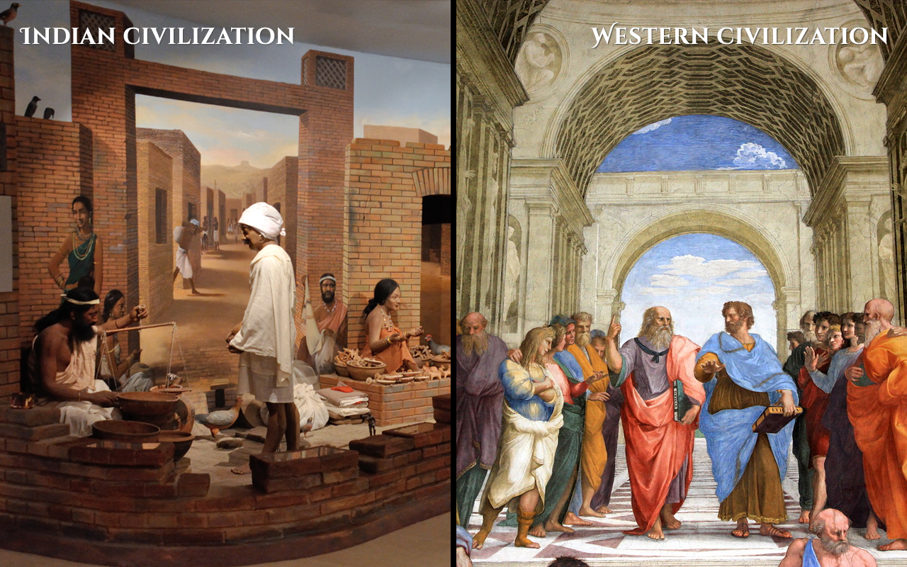 Indian-Culture-vs-Western-Culture-History