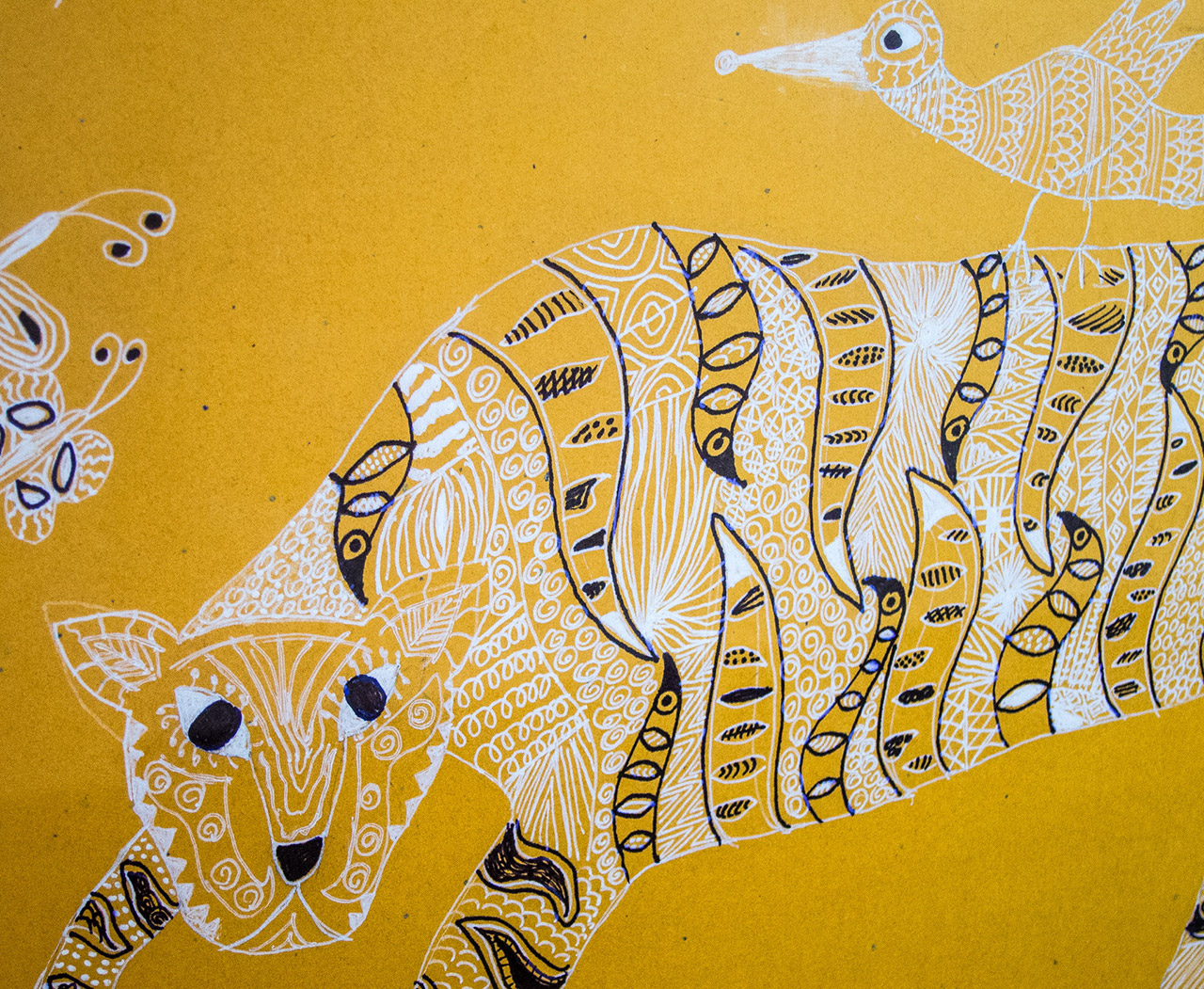 The-Exquisite-Shapes-of-Gond-Art