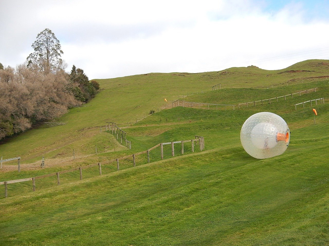 Top-10-Adventure-activities-in-India-Zorbing