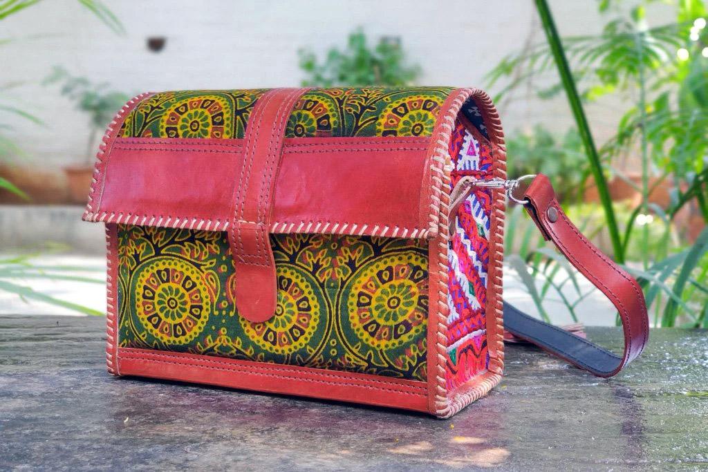 Handicrafts-from-Gujarat-Leather-handicraft