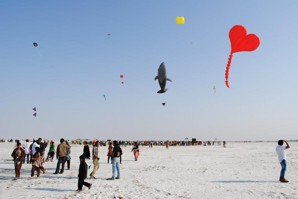 International Kite Festival in Gujarat