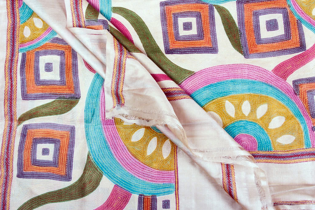 Kantha-Embroidery