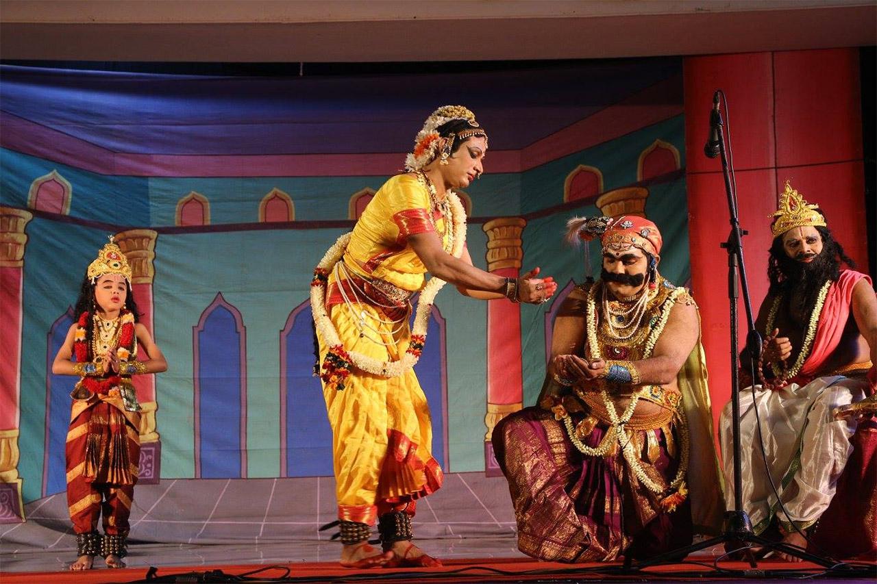 Art-Forms-Of-Tamil-Nadu-Bhagavata-Mela