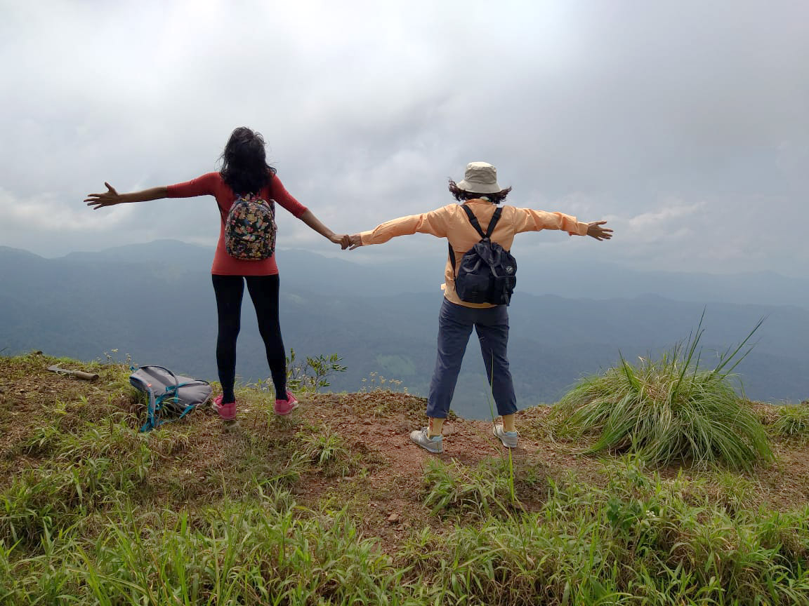 Trip to Coorg Atop-Nishane-Motte