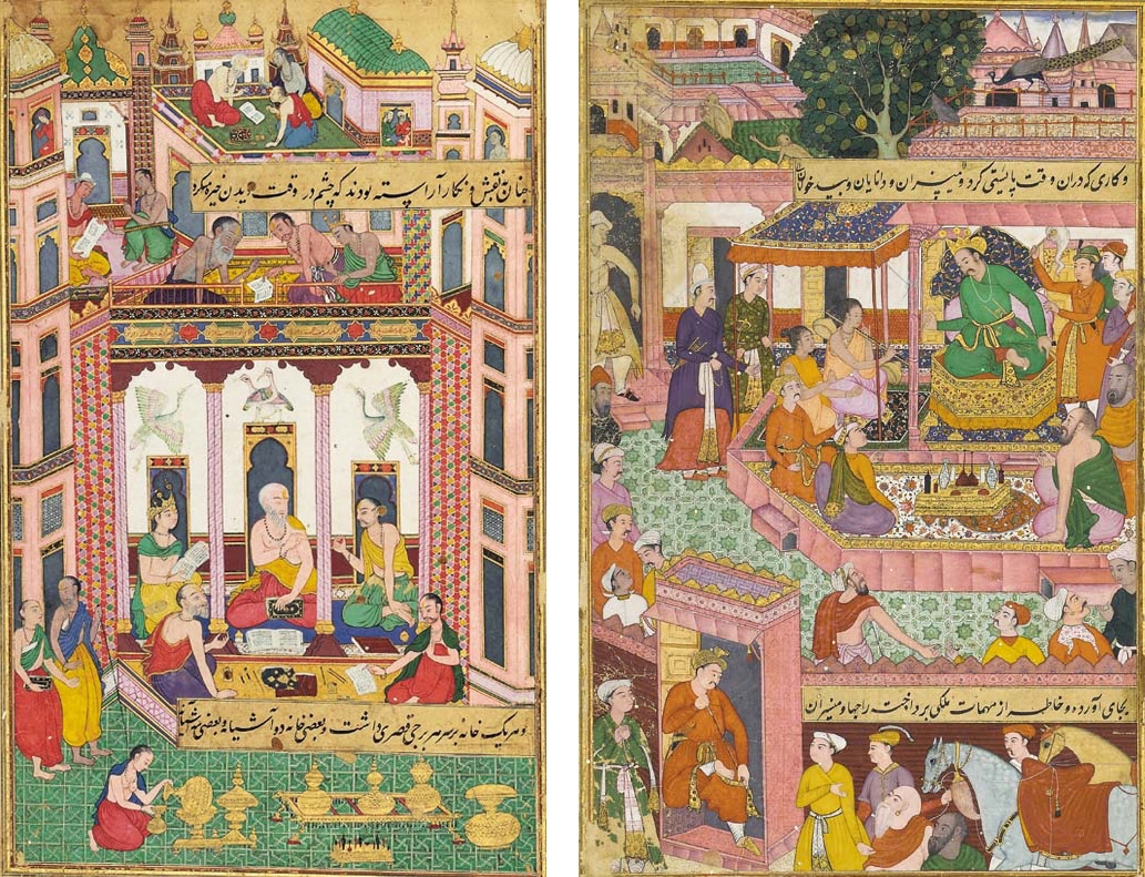 Miniature-Paintings-of-India-Mughal-School
