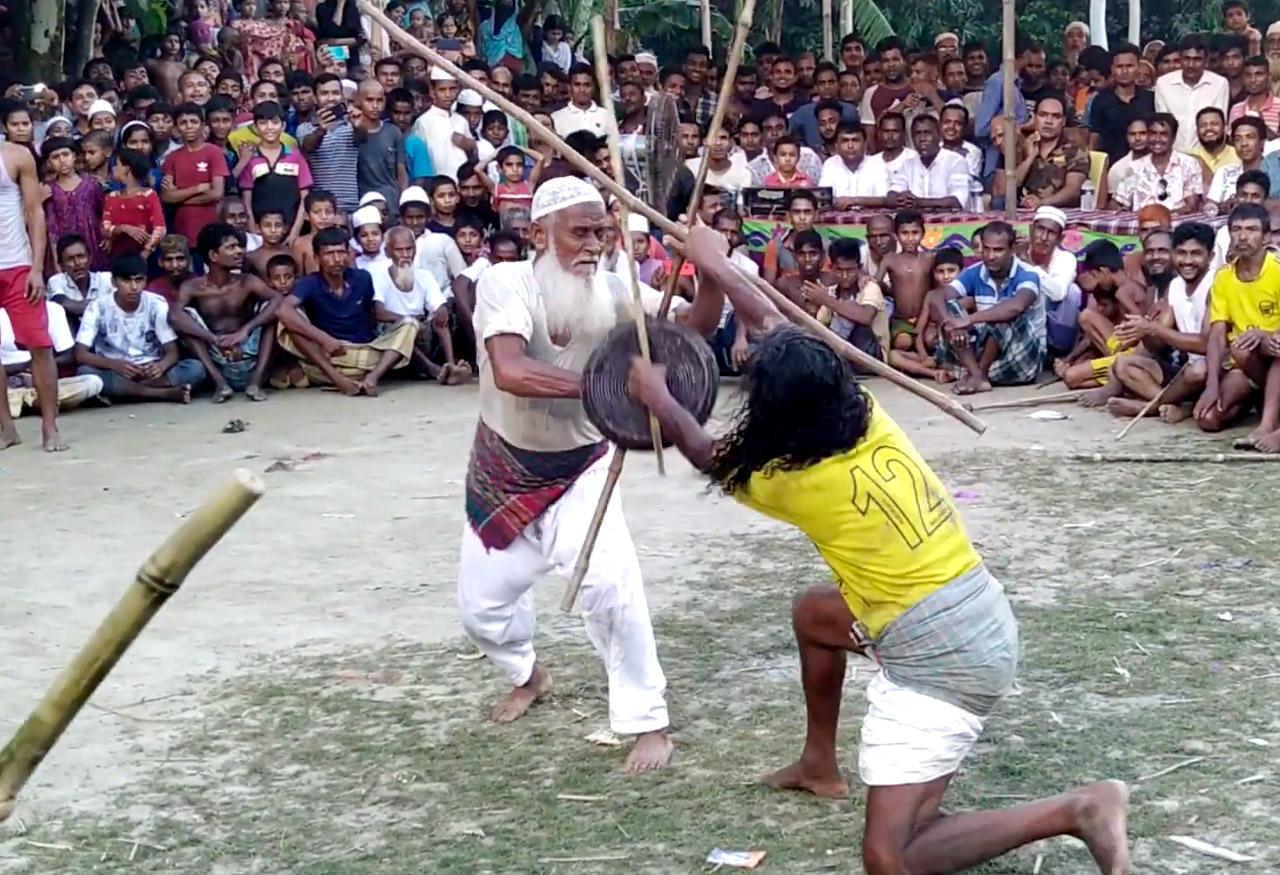 Martial-Arts-of-India-Lathi-Khel