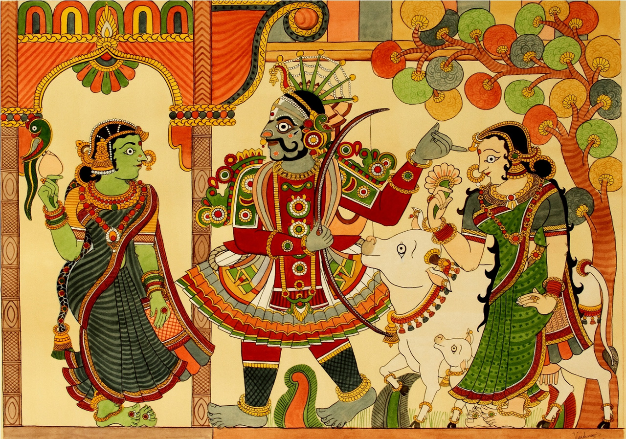 Chitrakathi-Folk-Art
