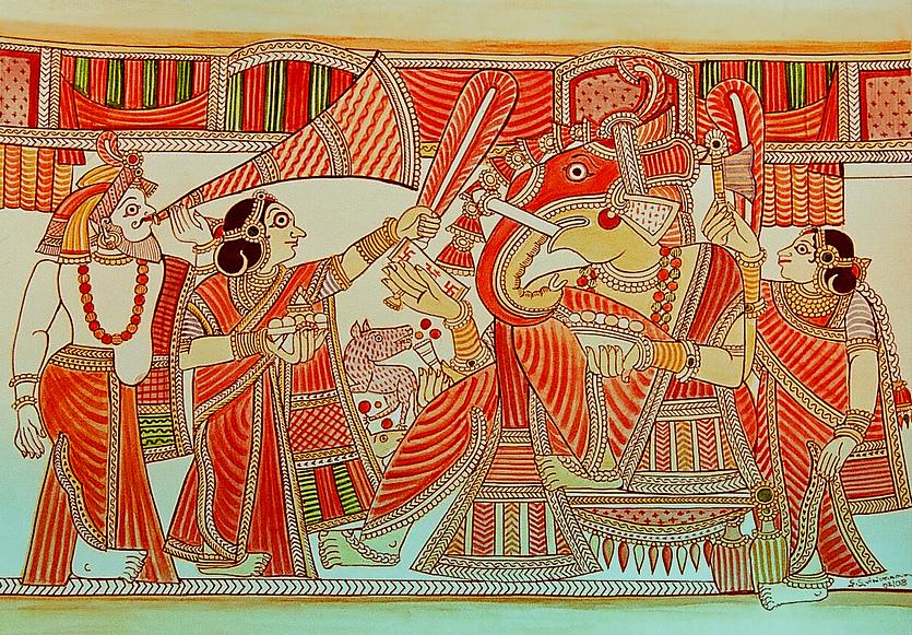Traditional Chitrakathi Paintings