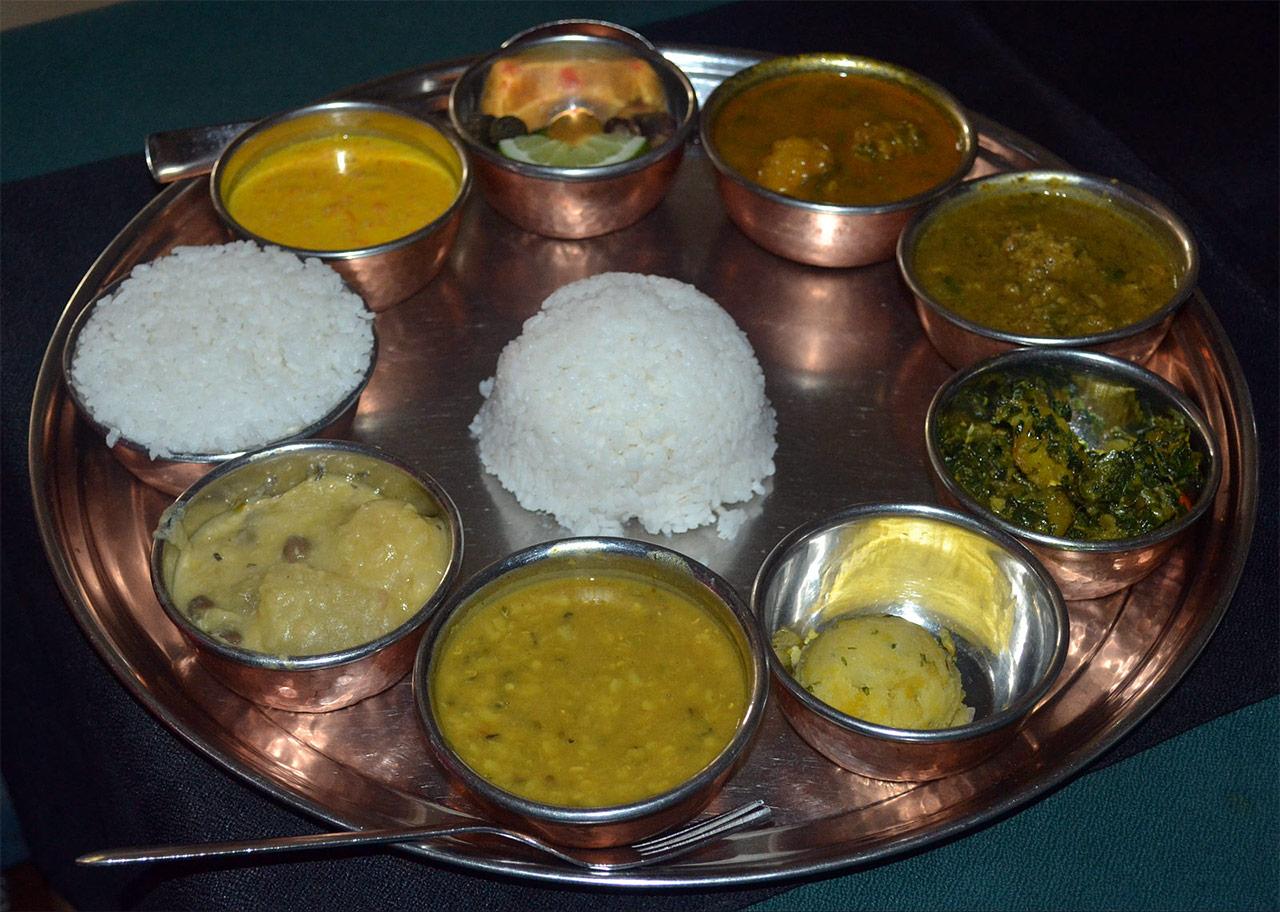 Assamese-thali