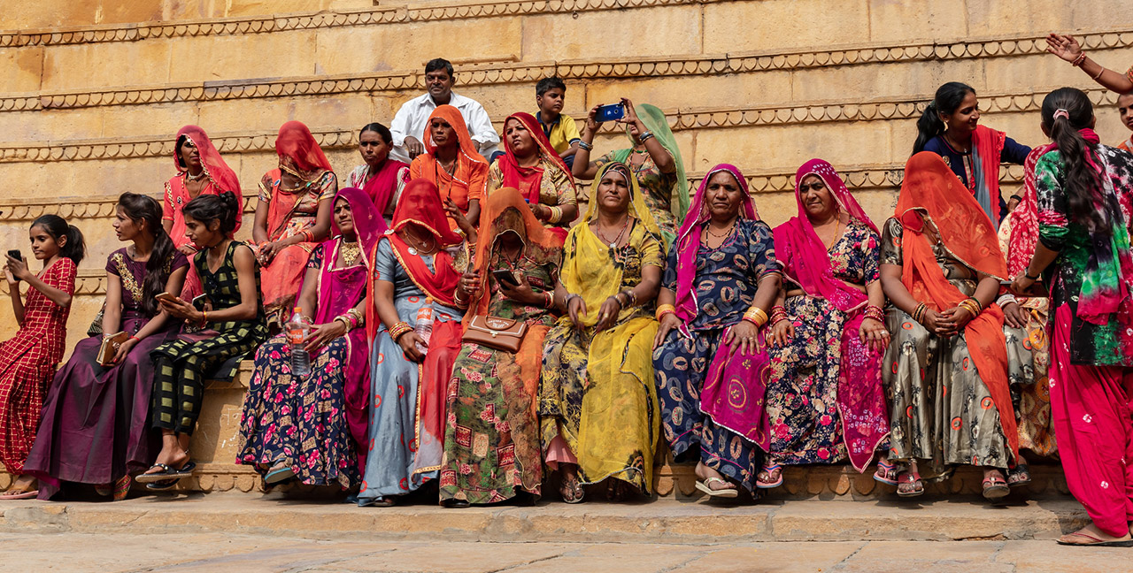 Traditional-Dress-of-Rajasthani-women