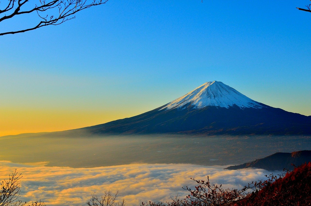 Most Beautiful Places in the World Mount Fuji, Japan