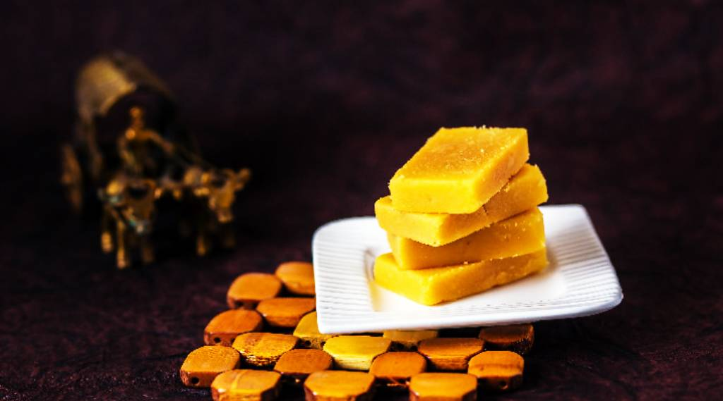 Mysore Pak-Mysore's Famous Food