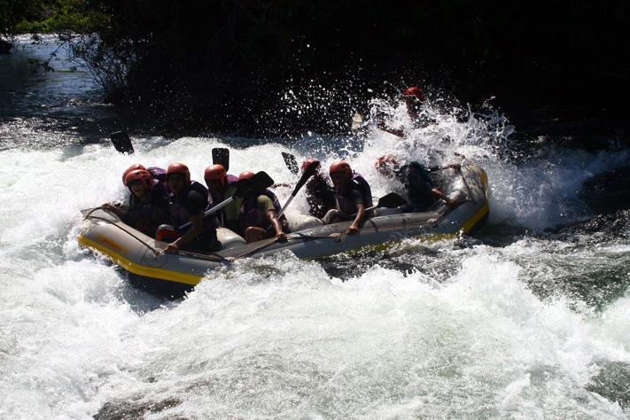 Adventure greater than life - rafting near Dandeli