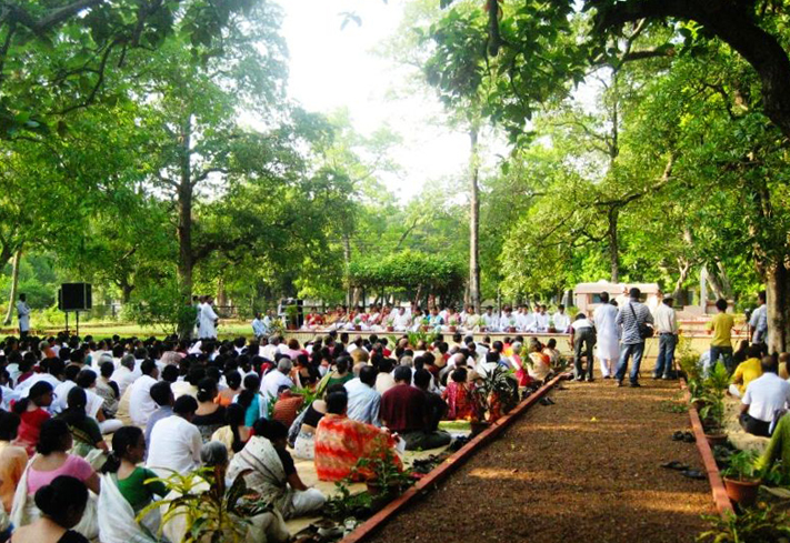Rabindra Jayanti celebrated at Santiniketan