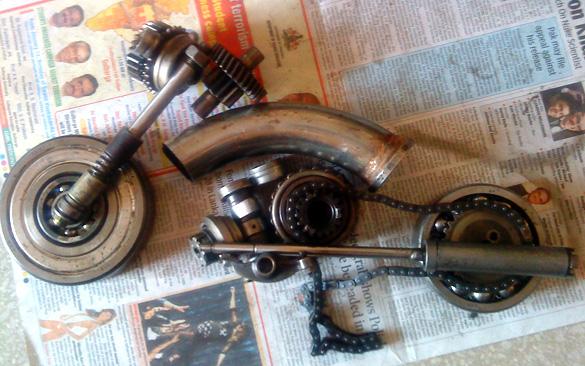 Scrap Bike Art