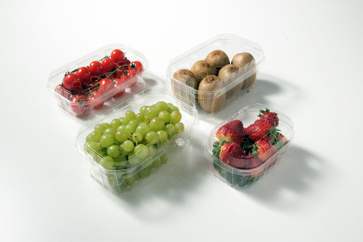 Bio-plastic fruit containers